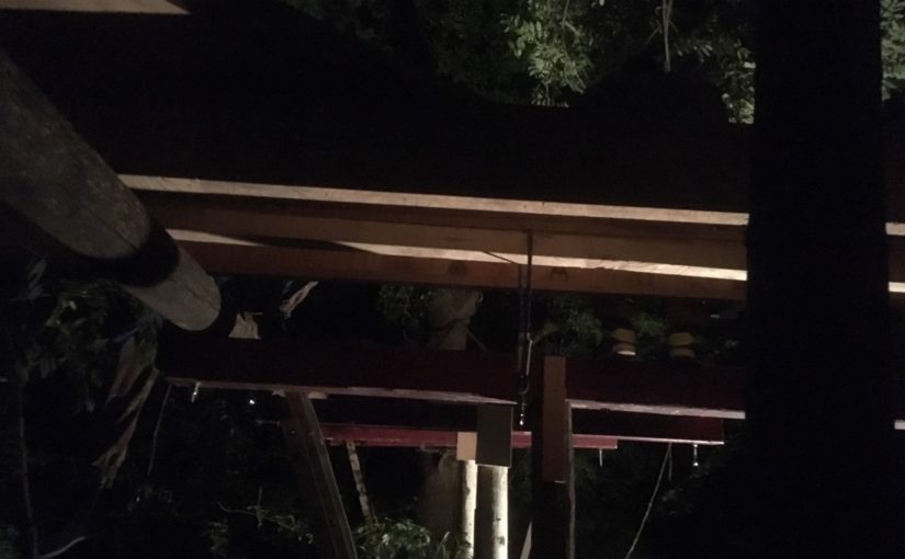 Journal cabane #2 – Construire